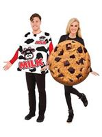 Milk and Cookies Adult Costume Set