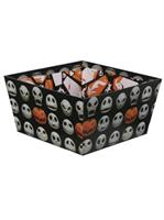 The Nightmare Before Christmas Jack Skellington Paperboard Candy Bowl (8.5x 4.5)
