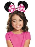 Pink Minnie Mouse Kids Sequin Ears