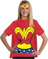 Wonder Woman Shirt Kids Costume