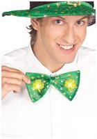 Light Up St Pats Shamrock Tie
