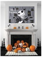 The Nightmare Before Christmas Jack Skellington Hanging Decor Banner