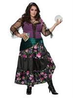 Womens Plus Mysical Charmer Gypsie Cosutme Costume