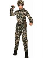 Boy - Army Jumpsuit Costume
