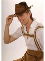 Deluxe Oktoberfest Hat Brown