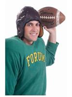 Vintage Football Helmet-Brown