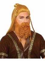 Deluxe Viking Wig With Beard