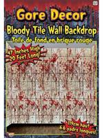 Gore Decor-Bloody Tile Wall