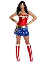 Women'S Wonder Woman Plus Size Deluxe Costume