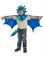 Child Hooded Sully Dragon Costume