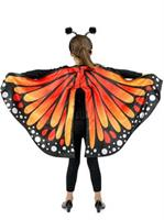 Girls Monarch Butterfly Cape Costume
