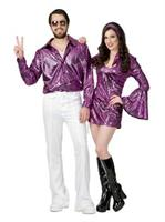Dazzling Disco Shirt-Plus Costume