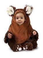 Girls Star Wars Newborn Wicket Ewok Costume (0-3 M