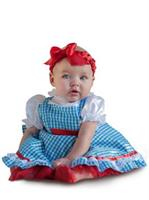 Girls Wizard Of Oz Dorothy Newborn Costume