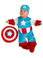 Boys Newborn Marvel-Captain America Costume