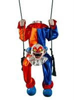 Animated Headless Clown On Swing