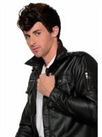 50'S Greaser Wig-Brown