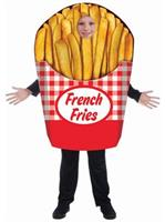 French Fries - One Size Costume