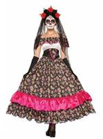 Day Of Dead-Spanish Lady Costume