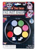 Day Of The Dead-Face Paint M/U