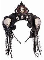 House Of Bonez - Fancy Skull Headband