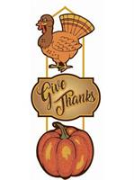 3 Tier Thanksgiving Plaque