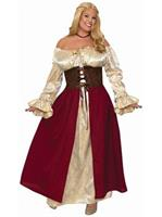 Medeival Wench - Plus Costume