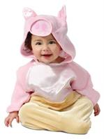 Infant Pig in a Blanket Costume(0/9M)