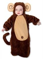Infant Sweet Little Monkey Costume(0/6M)