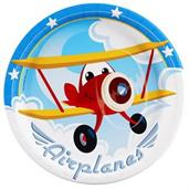 Airplane Adventure Plates