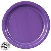 Perfect Purple (Purple) Paper Dinner Plates
