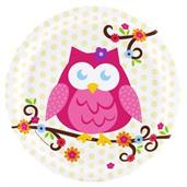 Owl Party Supplies & Decorations Green