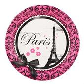 Paris Damask Plates