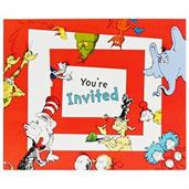 Dr. Seuss 1st Birthday Invitations (8)