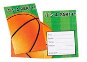 Basketball Invitations