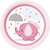 Umbrellaphants Plates