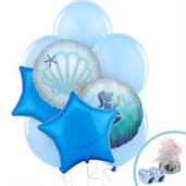 Mermaids Under the Sea Party Supplies & Decorations Green