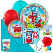 Two-Two Train Party Supplies & Decorations