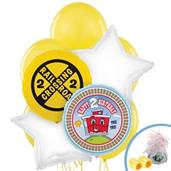 Two-Two Train 2nd Birthday Balloon Bouquet