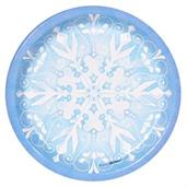 Snowflake Winter Wonderland Dinner Plates