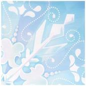 Snowflake Winter Wonderland - Lunch Napkin (20)