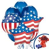 Patriotic Balloon Bouquet
