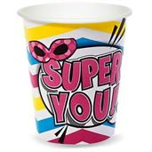 Superhero Girl Cups & Glasses