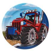 Farm Tractor Party Supplies & Decorations Red