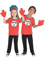 Kid Thing 1 and Thing 2 Costume Kit