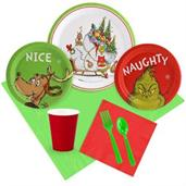 Dr. Seuss Grinch Christmas Tableware Kit (Serves 8
