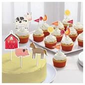 Barnyard Birthday Cake Topper Kit (12)