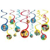 Toy Story 4 Hanging Swirl Decorations