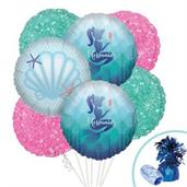 Mermaids Under the Sea Balloon Bouquet Kit