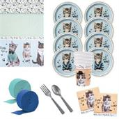 Rachael Hale Cats Rule Deluxe Tableware Kit (Serve